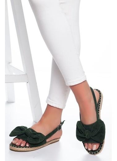 Mask Sandalet Yeşil
